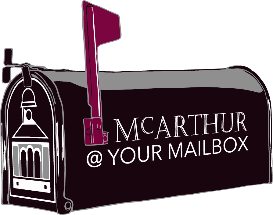 McArthur at your Mailbox